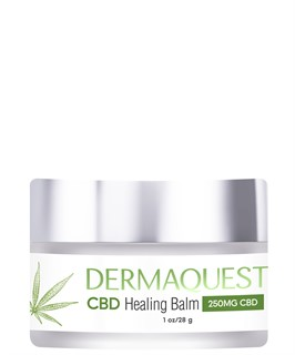 CBD крем Регенерирующий бальзам для лица / DermaQuest / набор с семплами