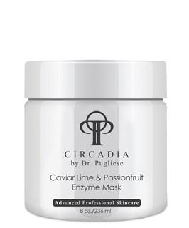 Очищающая маска для лица с энзимами «Лайм и Пассифлора»  / Circadia