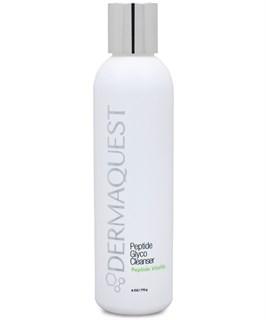 Молочко очищающее с пептидами и гликолевой кислотой для лица / DermaQuest / набор с семплами